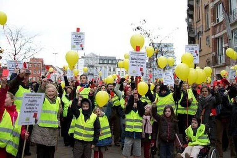 Bruxelles : dernière mobilisation contre l'euthanasie des mineurs