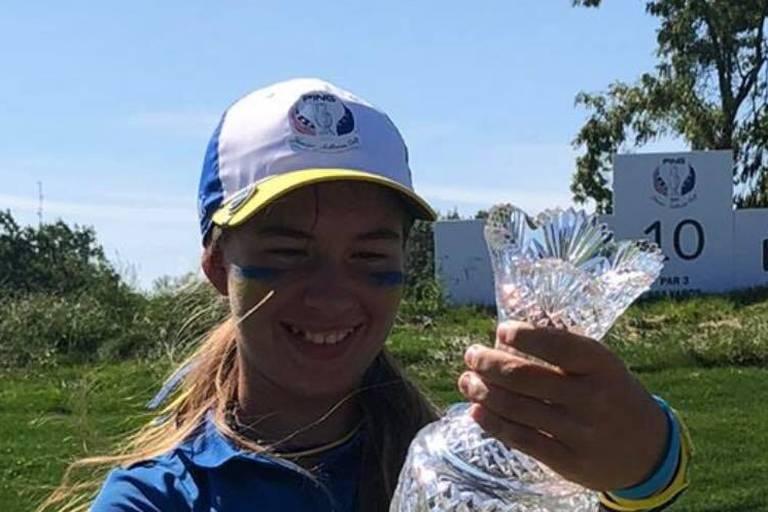 L'Europe et Savannah De Bock remportent la Solheim Cup Junior