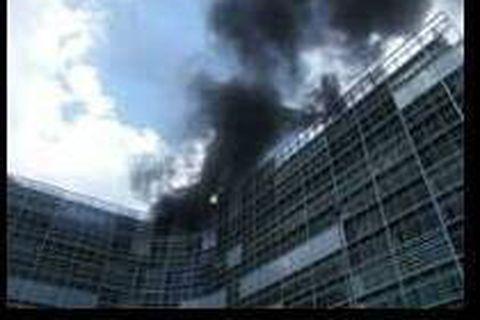 Commission européenne: l'incendie est circonscrit