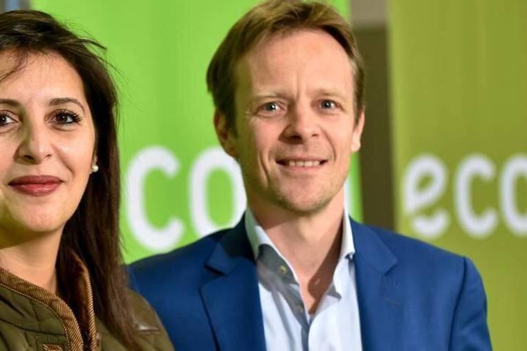 Zakia Khattabi et Patrick Dupriez, nouveaux co-présidents d'Ecolo