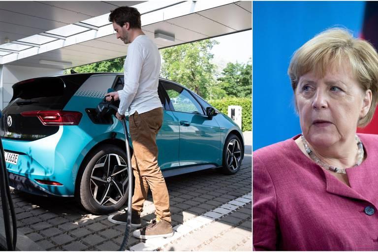 Sur l'année 2020, les constructeurs allemands VW, BMW et Mercedes ont concentré 40% des ventes de voitures à propulsion électrique.