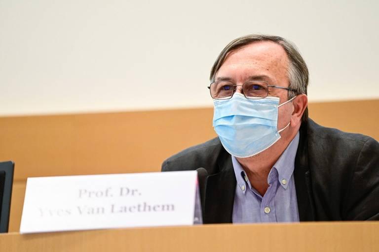 """Yves Van Laethem fait le point à la veille de la rentrée: """"L'épidémie est en phase finale, mais elle n'est pas encore terminée"""""""