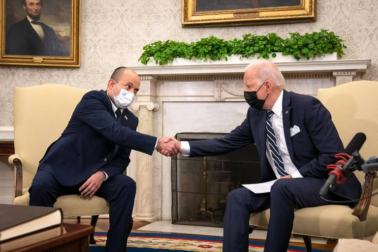 Biden accueille le Premier ministre israélien au lendemain de l'attentat de Kaboul