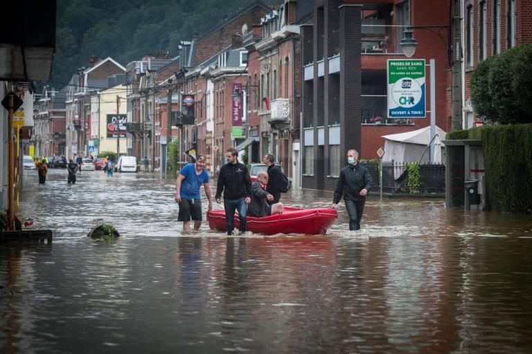 Inondations : la Ville de Verviers se constitue partie civile