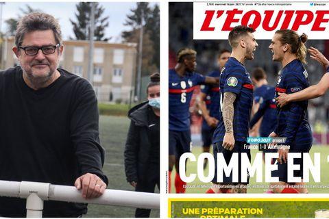 """""""Comme en 18"""" : Vincent Duluc, journaliste à L'Equipe, s'exprime sur la polémique"""