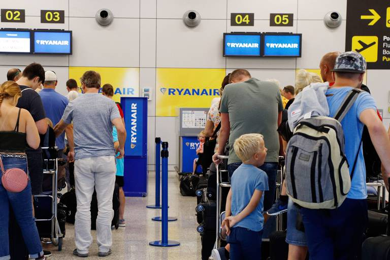 """Ryanair refuse de dédommager les passagers pour des grèves """"déraisonnables"""""""