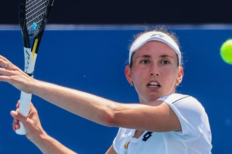 WTA San Jose: Elise Mertens s'en sort en trois sets contre Kristina Mladenovic et file en quarts
