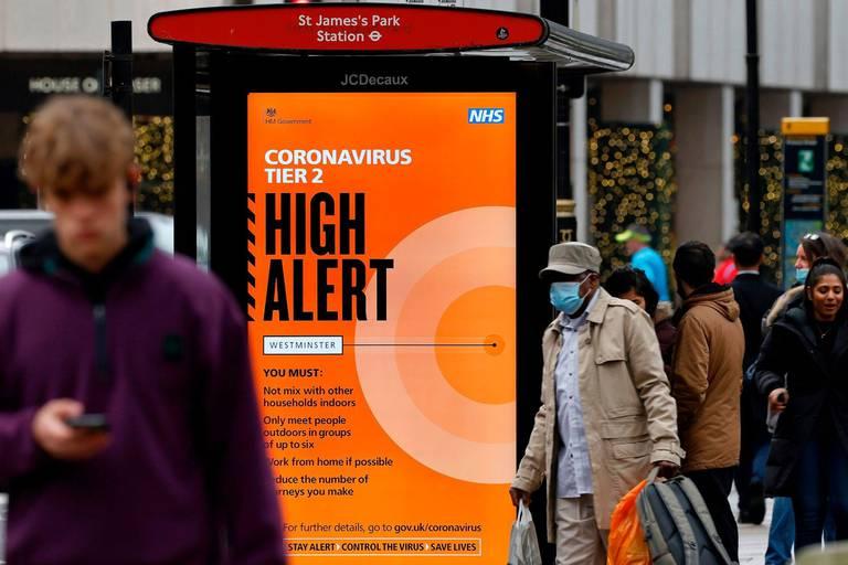 """Une nouvelle mutation du coronavirus inquiète le Royaume-Uni: """"Nous devons prendre des mesures rapides"""""""