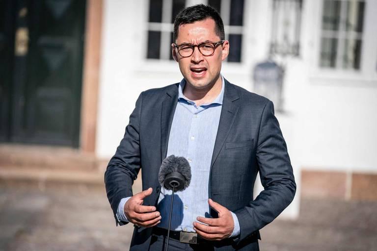 Múte Bourup Egede, le nouveau Premier ministre pro-indépendantiste.