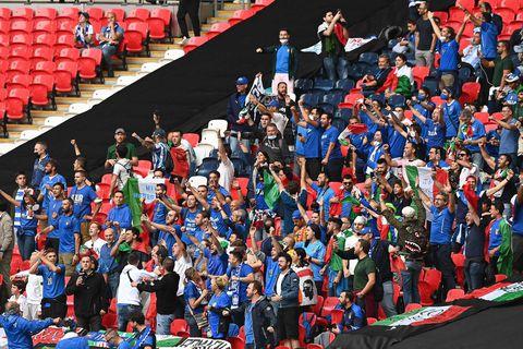Angleterre-Italie : un choc entre deux terres de supporters diamétralement opposés