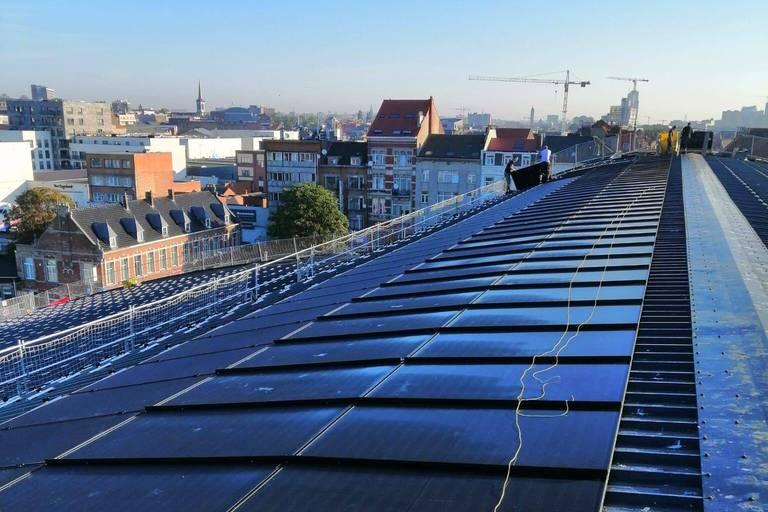 La plus grande installation photovoltaïque urbaine d'Europe vient d'être inaugurée à Bruxelles