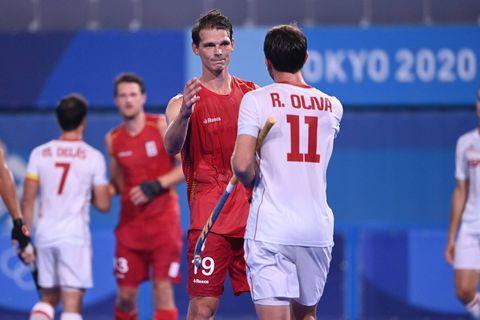 """Les Red Lions déjà concentrés sur leur demi-finale: """"A nous de garder la balle contre l'Inde"""""""