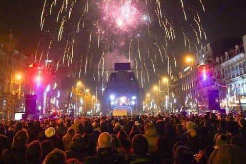 Bruxelles : pas de feu d'artifice, ni de festivités place De Brouckère pour le Nouvel an