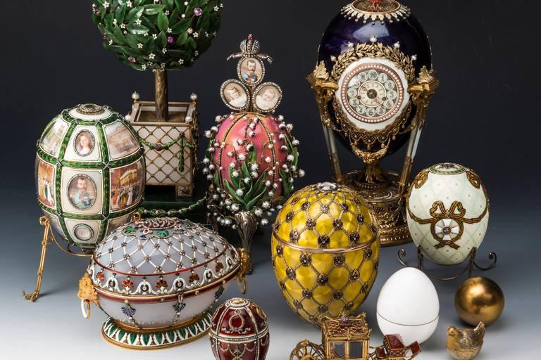 Fabergé, l'Histoire est dans l'œuf