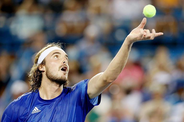 "Stefanos Tsitsipas se méfie d'Andy Murray : ""Il n'abandonne jamais"""