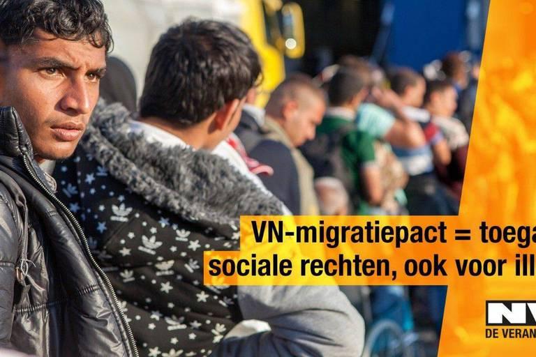 La N-VA lance une campagne contre le pacte migratoire, alors que les négociations sont en cours