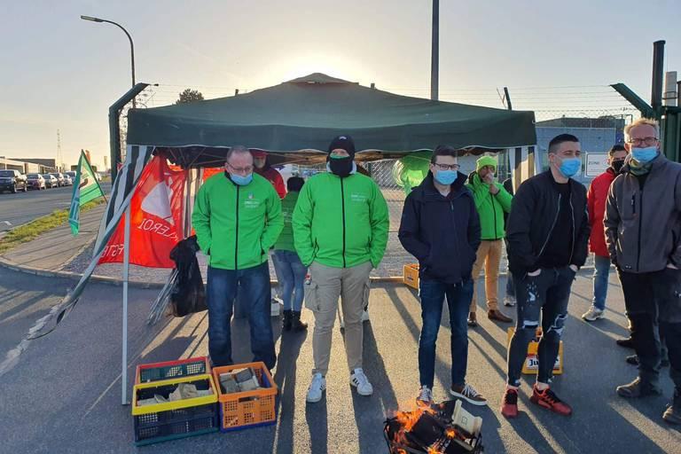 Succès de mobilisation à Charleroi pour la grève générale