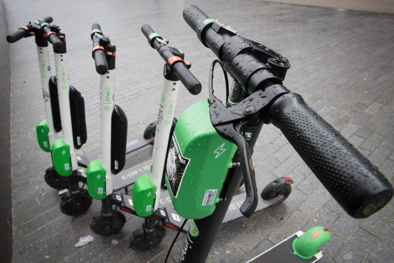 Lime annonce 3,5 millions de kilomètres en un an avec ses trottinettes à Bruxelles
