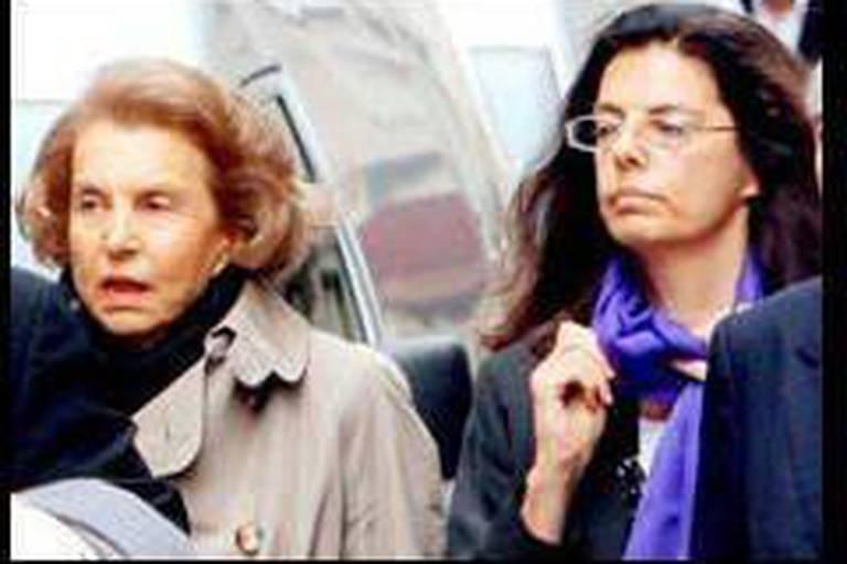 Liliane Bettencourt et sa fille enterrent la hache de guerre