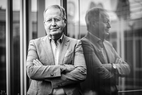 """Philippe Delusinne dirige RTL Belgium, avec poigne, depuis bientôt 20 ans. Son dernier défi en tant que CEO pointe à l'horizon: """"revisiter"""" RTL avec ses deux nouveaux actionnaires."""