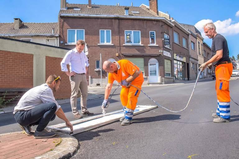 Charleroi: la sécurité routière au cœur des rénovations de voiries