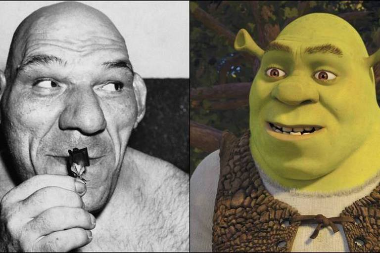 Et si Shrek était en réalité un catcheur français?