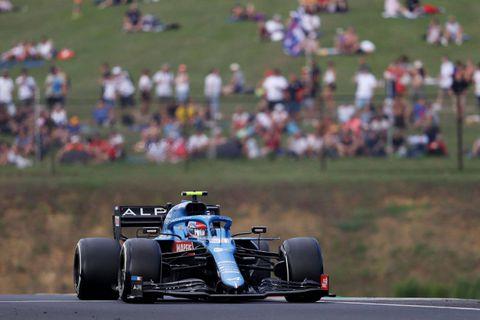 F1: le Français Esteban Ocon (Alpine) remporte en Hongrie le premier Grand Prix de sa carrière