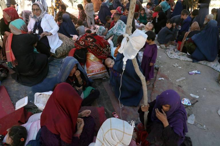 """""""Ils ont tué un coiffeur car ils pensaient qu'il travaillait pour le gouvernement"""" : des déplacés afghans racontent l'enfer de l'offensive talibane"""