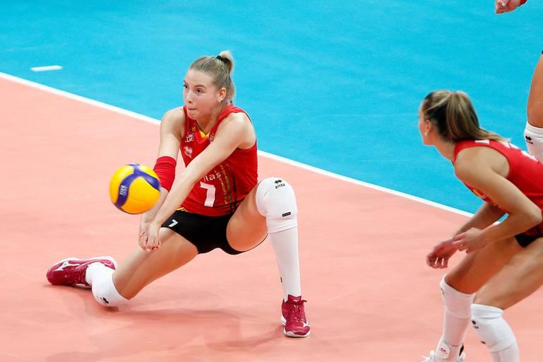 Volley-ball: pas de miracle pour les Yellow Tigers, éliminées en 8es de finale de l'Euro (3-1)
