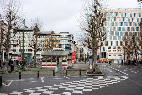 Bruxelles - Yser: Un reamenagement de la porte d'Anvers va etre realise a Bruxelles le mardi 22 decembre 2020
