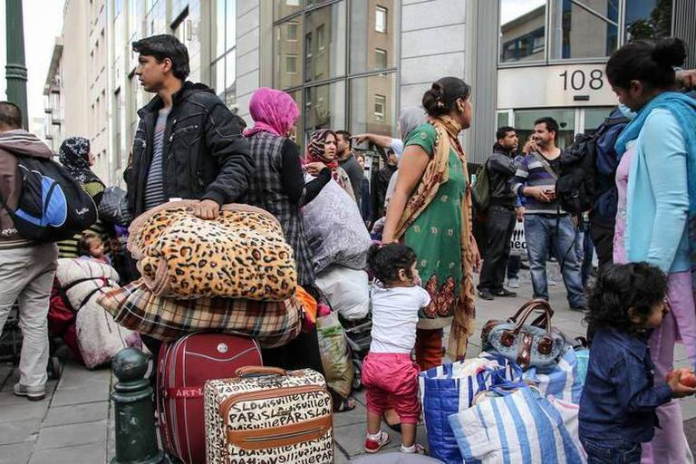 Les demandes d'asile réduites de près de moitié en 20 mois