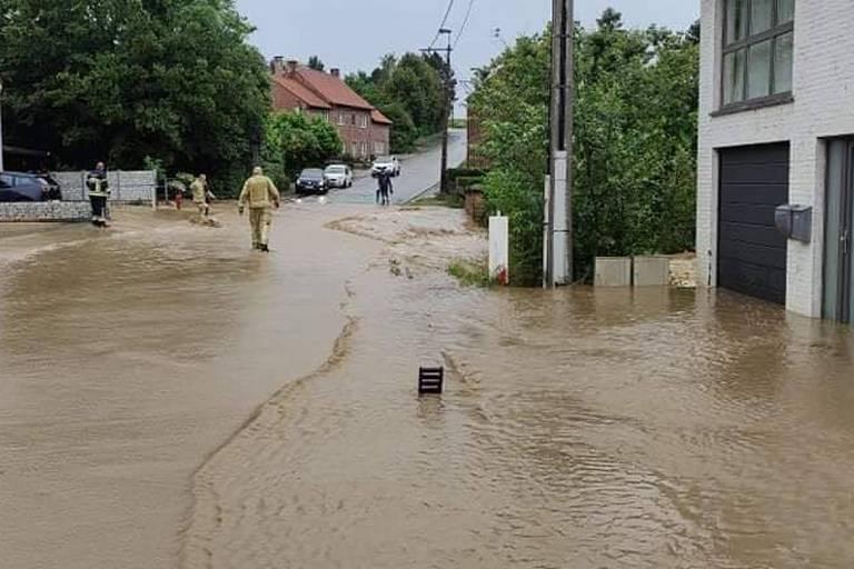 Plusieurs communes du Brabant wallon ont été touchées par les orages ce dimanche (PHOTOS+VIDEOS)