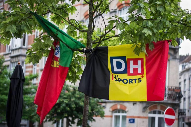 """Bruxelles se prépare au match Portugal-Belgique : """"Ça va vraiment être chaud"""""""