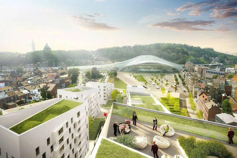 Le chantier de Paradis Express a commencé à Liège