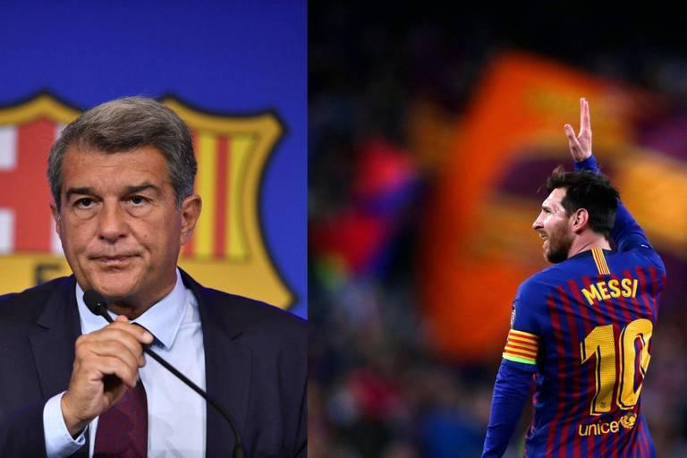 """""""Aucun joueur n'est au-dessus du club, pas même le meilleur"""": le président du Barça s'explique sur le départ de Messi"""