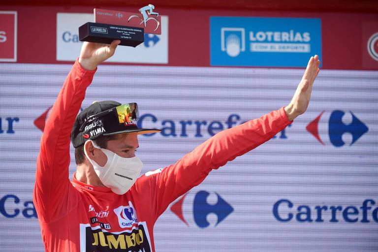 Primoz Roglic remporte sa 3e Vuelta consécutive, après s'être imposé dans le contre-la-montre final