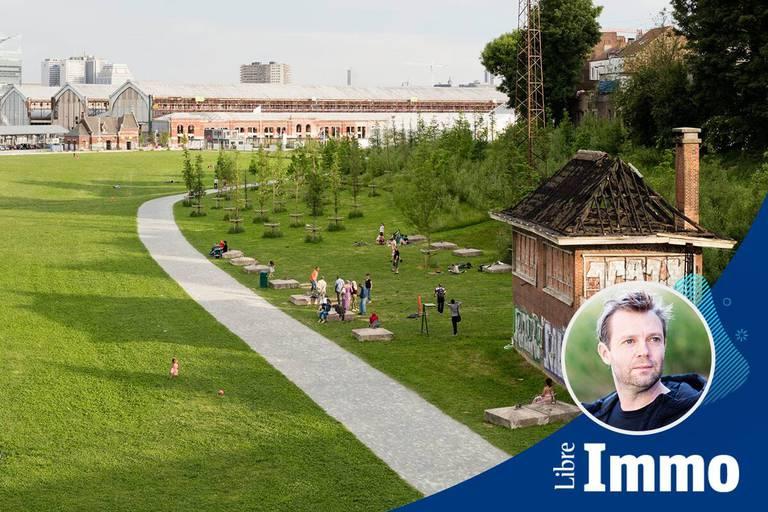 L'architecte paysagiste et son équipe se sont attaqués à des projets qui n'ont pas manqué de résonner en Belgique.