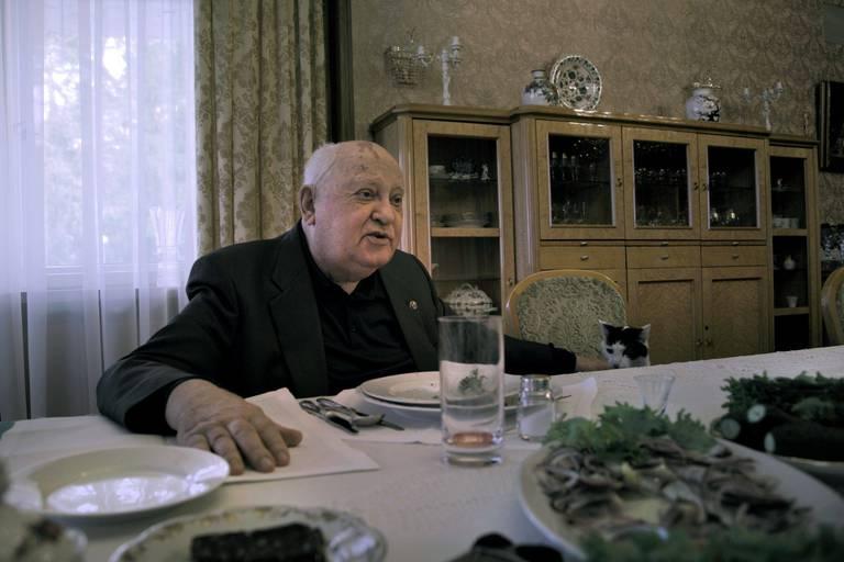 Gorbatchev en aparté