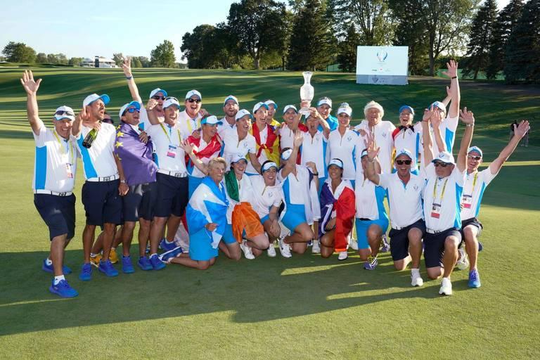 Solheim Cup : les Européennes conservent leur titre