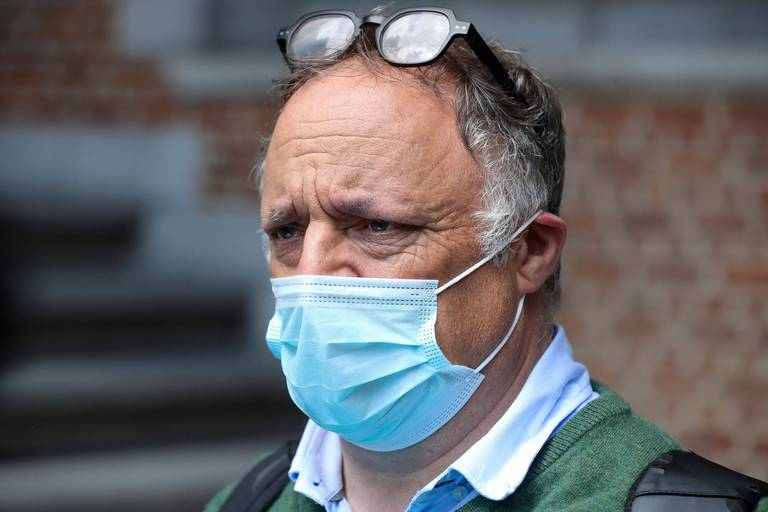 """Marc Van Ranst se veut rassurant: """"Le nombre d'infections est plus élevé que l'an dernier mais c'est comme ça dans tous les pays et je l'explique par deux facteurs"""""""