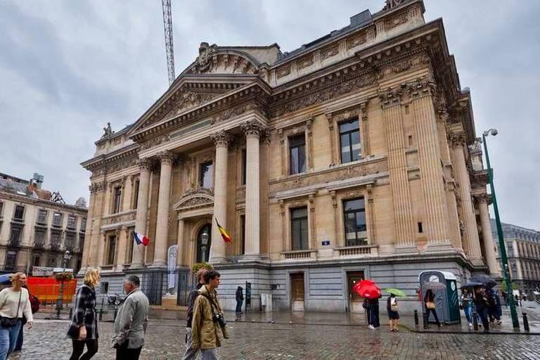 """Un """"temple de la bière belge"""" dans l'ancien palais de la Bourse de Bruxelles"""