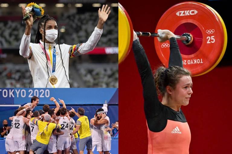 Bilan des JO 2020 pour la Belgique: une 29e place au classement des médailles, 69 des 123 athlètes belges ont réalisé un top 8!
