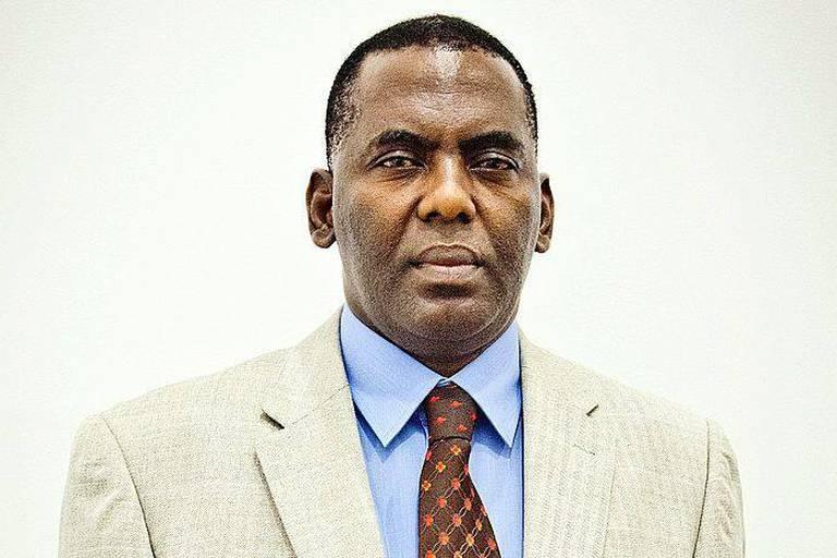 Biram Dah Abeid , président de l'ONG mauritanienne Initiative de la Résurgence antiesclavagiste - IRA