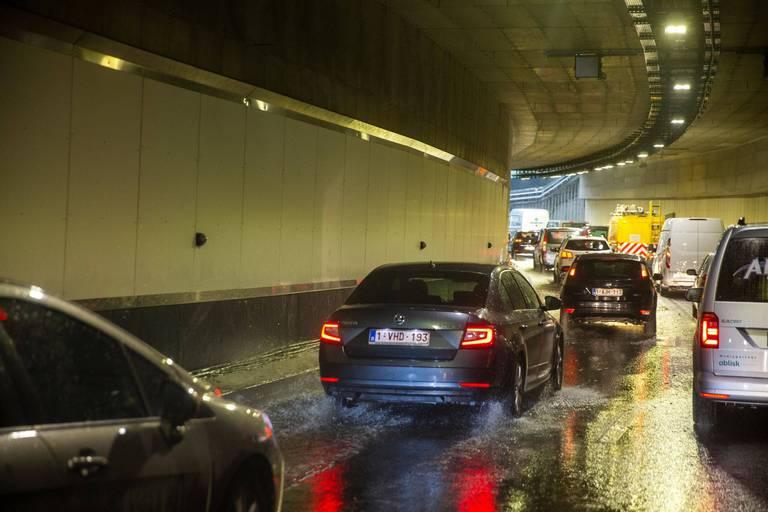 Intempéries: plusieurs tunnels à Bruxelles fermés en raison d'inondations