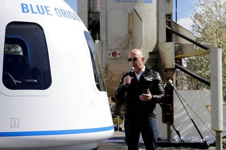 Jeff Bezos, fondateur de Blue Origin.
