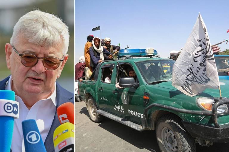"""L'ancien chef de la diplomatie allemande estime qu'une """"erreur"""" a été commise en Afghanistan: """"Nous en voyons les conséquences aujourd'hui"""""""