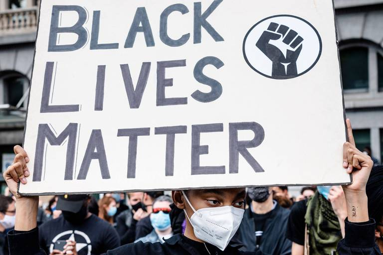"""""""Belgian Network for Black Lives"""" choqué par les émeutes et les violences policières à Bruxelles"""