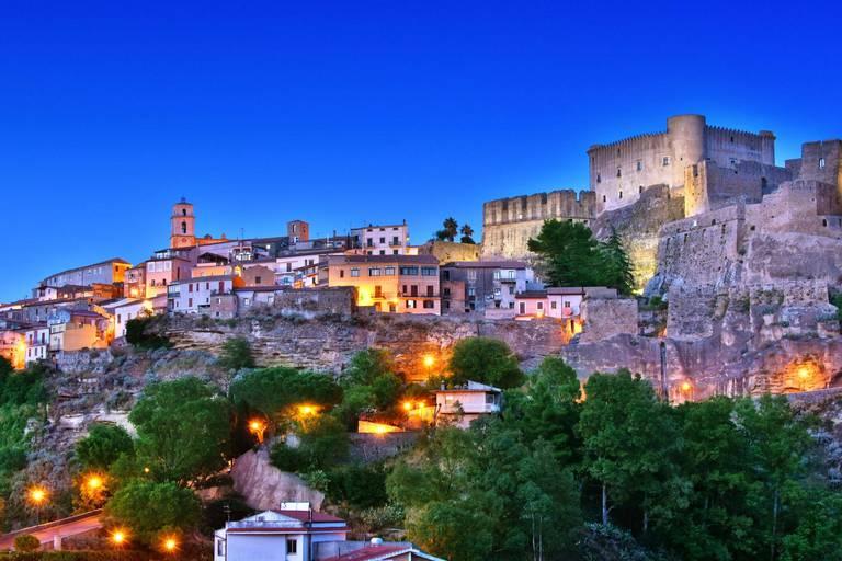 Santa Severina, l'un des neuf villages concernés par cette opération.
