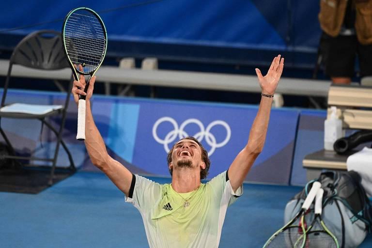 Zverev ne fait qu'une bouchée de Kachanov et empoche sa première médaille d'or olympique