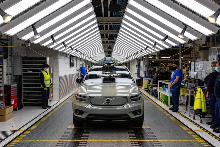 L'usine Volvo de Gand va suspendre sa production pendant trois jours